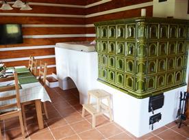 Chalupa Na peci - ubytování Želnava