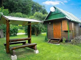 Chata Jadran - ubytování  Podhradí nad Dyjí