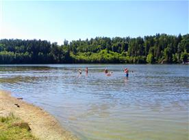 Trnávka (4 km) - přírodní koupání