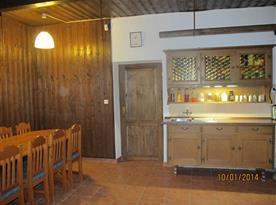 Kuchyňský kout v přízemí