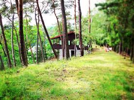 Chata Na poloostrově - ubytování  Čerňovice