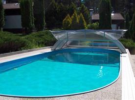 Zastřešený bazén 10*4 m je k dispozici pouze našim hostům