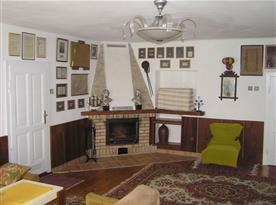obývací pokoj - krbová vložka