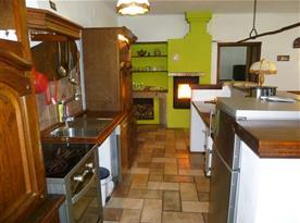 obytná kuchyně v Domě