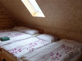 Velká ložnice - 4 lůžka