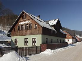 Horská chata Maršovka v obci Horní Maršov