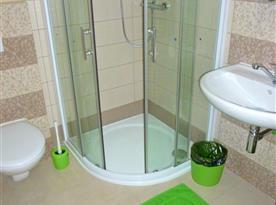 Zelený pokoj č. 2 - koupelna