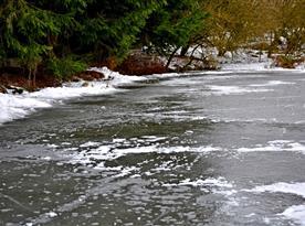 Zima 2015 ve Studené - nabízí pro klienty krásné bruslařsné vyžití