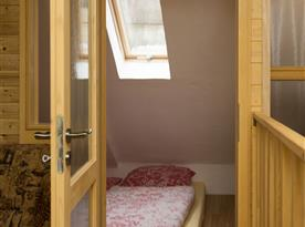 3 lůžkový pokoj - podkroví
