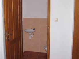 Pohled na WC