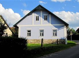 Chalupa Modrá - ubytování Bohdalov