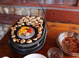 Raclette gril