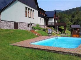 Chata Sokolka - bazén