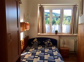 dvoulůžková ložnice - 6 lůžkový apartmán