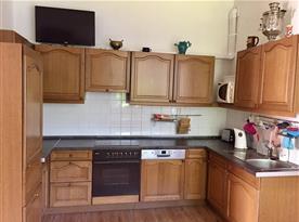 kuchyň - 15.lůžkový apartmán