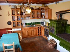 Apartmán C kuchyně