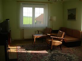 Apartmán A - obývací pokoj