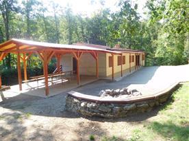 Chata U Spáleného Mlýna - ubytování  Rešice