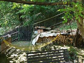 Relaxační zóna v horní zahradě