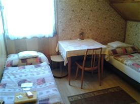 Apartmán B - menší ložnice