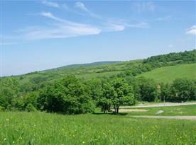 Pohled na okolí Filipova údolí