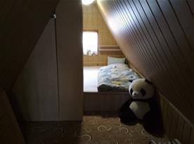 Podkrovní ložnice