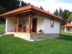 Čtyřlůžková chata - celkový pohled