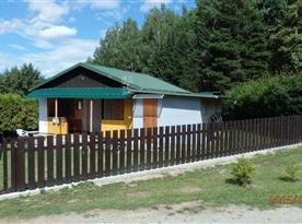 Chata Pod Jezem - ubytování  Dobronice u Bechyně