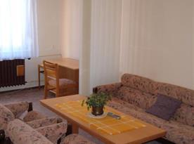 Pohled do obývacího pokoje