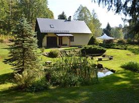 Chalupa U rybníčku - ubytování Krásná Lípa