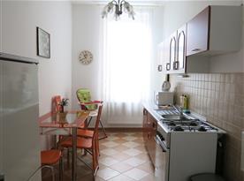 Apartmán č. 1 - kuchyně