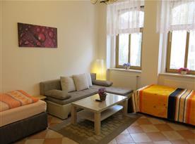Apartmán č. 1 - obývací pokoj
