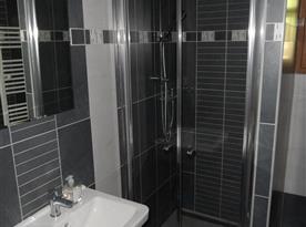 Sprchový kout v přízemí