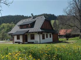 Chalupa Valachy - ubytování Velké Karlovice