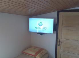 X-box- ve společenské místnosti.