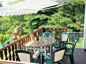 Venkovní posezení na terase