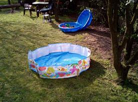 Bazének a pískoviště pro děti