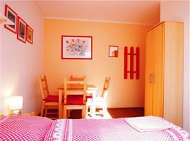 Apartmán se 2 ložnicemi (40 m2)