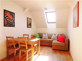 Velký apartmán se 2 ložnicemi (60 m2)
