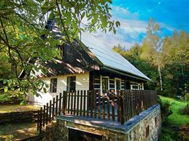 Chalupa U lesa - ubytování Lipová- ubytovánílázně