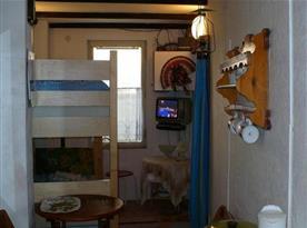Lůžková část apartmánu Mini (palanda)