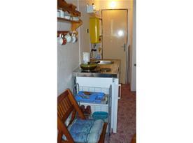 Kuchyňský kout v apartmánu Mini