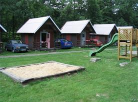 Dětské hřiště v kempu