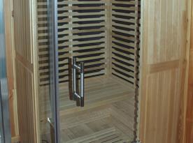 Infrasauna v koupelně (použití po dohodě)