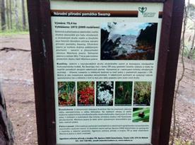 místní chráněné území, cca 400m od chaty