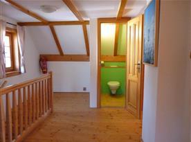 2.WC v 1. patře