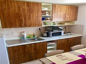 Kuchyně v suterénu
