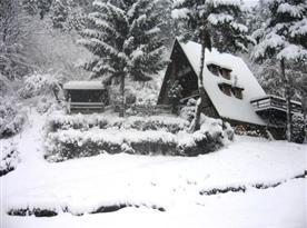 Chata Losové v obci Huslenky