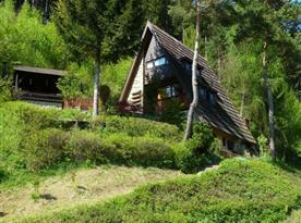 Chata Losové - ubytování  Huslenky