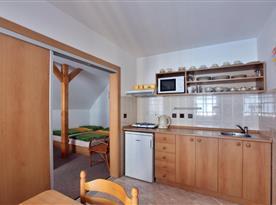 Apartmán č. 1 - kuchyňský kout